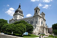 The Basilica of St  Mary Catholic Church  Minneapolis Minnesota MN USA