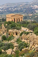 Temple of Concordia, Valley of the Temples, Agrigento, Sicily