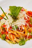 Rustic Italian spaghetti
