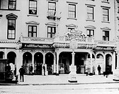 VAUDEVILLE THEATER, 1895.B.F. Keith's Union Square Theatre in New York City, 1895.