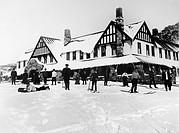 AUSTRALIA: SKIING, 1911.Hotel Kosciusko, New South Wales, Australia, 1911.