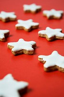 Christmas cookies, Munich, Bavaria, Germany