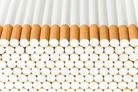 Pile of cigarettes