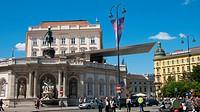 Albertina museum, Albertinaplatz, Vienna, Austria