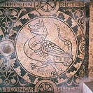 Dragon, by Unknown, 11th _ 12th Century, mosaic