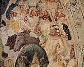 Crucifixion, by Emilian Artist, 14th Century, fresco