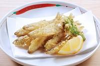 Japanese Smelt Fish Tempura Basket Japanese Food