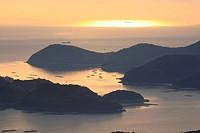 Mushiage Bay in Seto, Okayama Prefecture