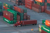 port, harbor, industry, cargo, storage, containers
