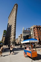 Flatiron Building, Fifth Avenue, Manhattan, New York, USA