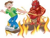 devil illustration
