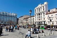 Santa Ana square, Madrid, Spain