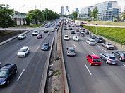 Paris, France, Ring Road, Highway, Street Scene, Traffic