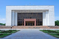 Kyrgyzstan - Bishkek - Ala-Too Square - the State Historical Museum
