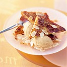 French toast with salted butter caramel ice cream