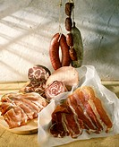 Italian cooked pork meats