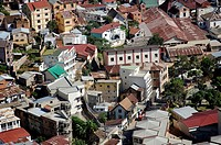 Overview from the upper city. Antananarivo city Tananarive. Madagascar. Indian Ocean.