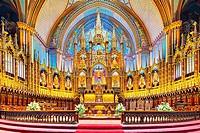 Basilique Notre Dame de Montreal, QC