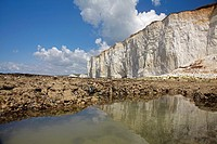 Seven Sisters Chalk Cliffs, Birling Gap, England, United Kingdom