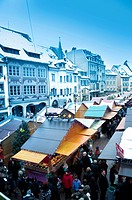 Christmas market, Mulhouse, Alsace, France