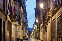 Bairro Alto after the night parties, Lisbon, Portugal, Europe