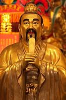 Figur im Zhiantempel, Taiwan,China, Asien