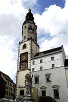 Altes Rathaus am Untermarkt in Goerlitz. Old town hall at the Lower Market Place in Goerlitz. Achtung: Nur zur redaktionellen Verwendung _ nicht für W...