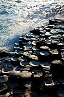 The Giant´s Causeway  World Heritage Site  Antrim County, Northern Ireland, Europe.
