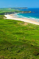 White Park Bay  Causeway Coastal Route  Antrim County, Northern Ireland, Europe