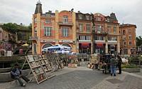 Knyaz Aleksandar Street, Plovdiv, Bulgaria