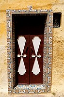 Morocco, Meknes, Doorway in the Medina
