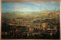 Austria - 18th century. Parade of French Ambassadors. Marquis Mirepoix in Vienna, October 12, 1738.  Vienna, Historisches Museum Der Stadt Wien (Histo...