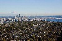 Seattle Seen Beyond Queen Anne Hill