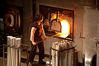 The Hot Shop Amphitheater is a working glass studio where teams of artists blow and cast glass  The Museum of Glass MOG designed by architect Arthur E...