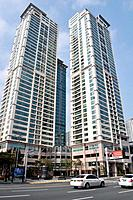 Busan (South Korea): modern condos in Nam-gu neighborhood