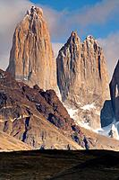 Torres del Paine in Chilean Patagonia