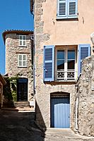 Buildings and houses, Seillans, Provence, France