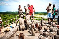 The Volcán El Totumo, a 65-foot-tall mud volcano outside of Cartagena is known for its supposed skin-enhancing qualities  Bathers float on top of 6,00...
