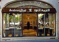 Paris, France, Arabian Oud Store Front, on Champs-Elysees