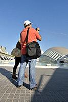 City of Arts and Sciences by Santiago Calatrava, Valencia, Comunidad Valenciana, Spain