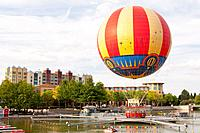 The Panoramagique balloon ride at Disneyland Paris in France