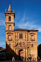 Historic Artistic Monument Church of San Isidoro, Oviedo, Asturias, Spain.