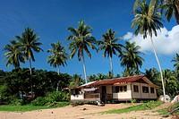 Scenery of Teluk Melano the Malay Fishing Village, Sarawak, Malaysia, Borneo.