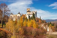 Niedzica Castle, Pieniny National Park, Poland, Europe