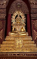 Wat Phra Singh Temple, Chiang Mai, Thailand