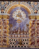Italy - Sicily region - Palermo province - Monreale Cathedral - Baroque Chapel of the Crucifix by Angelo Italia after a drawing by Fra' Giovanni da Mo...