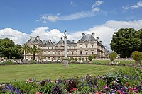 Luxembourg Palace, Palais du Luxembourg, 6th Arrondissement, Paris, Ile_de_France, France, Europe