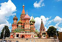 St.Basil´s Cathedral in Moscow