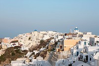 Village of Oia on the Greek islands of Santorini, Cyclades Islands, Cyclades Prefecture, Greece, Europe