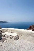 landscape of Oiai n Santorini, Cyclades Islands, Cyclades Prefecture, Greece, Europe
